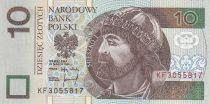 Poland 10 Zlotych Miesko I - 1994