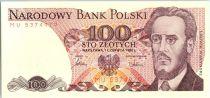 Poland 100 Zlotych  1986 - Ludwik Warynski