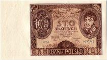 Poland 100 Zlotych  J Poniatowski - 1932