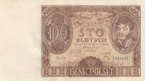 Poland 100 Zlotych Prince J. Poniatowski - 1934  - AU - P.74 Serial CY