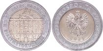 Poland 5 Zlotych - Branicki Palace - Bimetal - AU - 2020