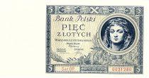 Poland 5 Zlotych  King Jan Albrecht Jagellonzyk - 1930