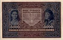 Poland 5000 Marek  1920 - T. Kosciuszko - Woman