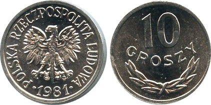 Poland YAA.47 10 Groszy, KM.YAA47