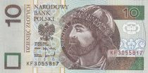Polen 10 Zlotych Miesko I - 1994