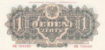 Pologne 1 Zloty 1944 - Gris - Série OK 764560