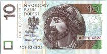 Pologne 10 Zlotych Mieszko 1er - 2012