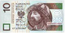 Pologne 10 Zlotych Mieszko 1er