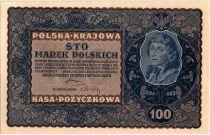 Pologne 100 Marek - T. Kosciuszko - 1919