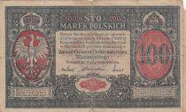 Pologne 100 Marek 1916 - Aigle couronné
