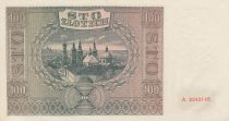 Pologne 100 Zlotych 1941 - Ange - Clochers