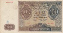 Pologne 100 Zlotych 1941 - Marron, Eglise - Série A 8617233