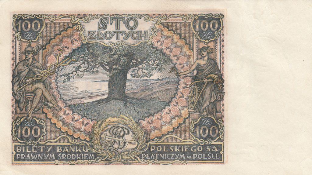 Pologne 100 Zlotych Prince J. Poniatowski - 1934  - SUP Séries diverses