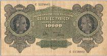 Pologne 10000 Marek 1922 - Femmes