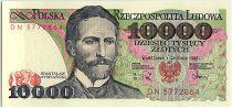 Pologne 10000 Zlotych  - S. Wyspianski - 1988