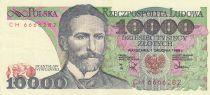 Pologne 10000 Zlotych 1988 - S. Wyspianski - Série CH
