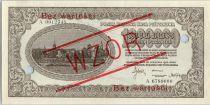 Pologne 1000000 Marek 1923 -  Cité - Aigle - Spécimen