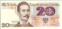 Pologne 20 Zlotych 1982 -  Romuald Traugutt