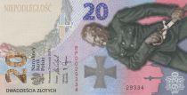 Pologne 20 Zlotych Bataille de Varsovie - 2020 - Neuf en folder