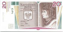 Pologne 20 Zlotych Jan Duglosz - 1415-1480 - 2015
