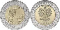 Pologne 5 Zlotych - Basilique de Frombork 2019 - Bimétal