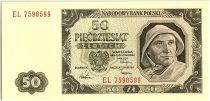 Pologne 50 Zlotych  - Pécheur -1948