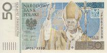 Pologne 50 Zlotych 2006 - Jean-Paul II - En folder