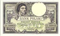 Pologne 500 Zlotych  T. Kosciuszko - Aigle couronné - 1919