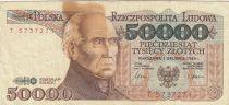 Pologne 50000 Zlotych 1989 - S. Staszic