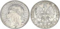 Pologne Y.22 10 Zlotych, Reine Jadwiga - 1932 - TTB+