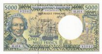 Polynésie Fr. 5000 Francs Bougainville - Trois-mâts - 2008 alph H.014