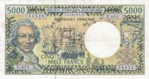 Polynésie Fr. 5000 Francs Bougainville - Trois-mâts - 2010  alph U.014 - TTB