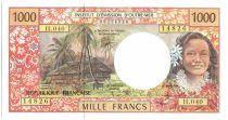 Polynésie Française 1000 Francs Tahitienne - Hibiscus - 2008 alph H.40