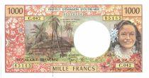 Polynésie Française 1000 Francs Tahitienne - Hibiscus - 2010 alph C.42