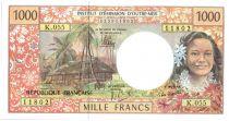 Polynésie Française 1000 Francs Tahitienne - Hibiscus - 2013