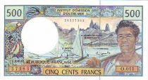 Polynésie Française 500 Francs Polynésien - Pirogue - 2005 alph O.11
