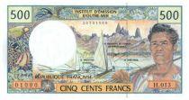 Polynésie Française 500 Francs Polynésien - Pirogue - 2006 alph H.13