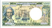 Polynésie Française 5000 Francs Bougainville - Trois-mâts - 2010  alph R.016