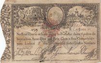 Portogallo 10000 Reis 1798 - Pedro IV - War of Two Brothers - 1826