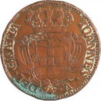 Portugal 10 Reis Jean V - Armoirie