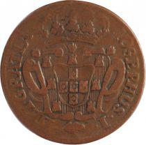 Portugal 10 Reis Jose I - Arms