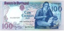 Portugal 100 Escudos 1980 - Manuel Barbosa Du Bocage