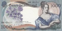 Portugal 1000 Escudos - Maria II of Portugal - 1967