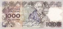 Portugal 1000 Escudos - Teofilo Braga - 1988 - SPL - P.181e