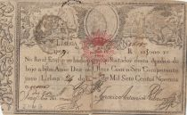 Portugal 10000 Reis 1798 - Pedro IV - War of Two Brothers - 1826