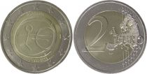 Portugal 2 Euro 10 years of EMU  - 2009