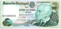 Portugal 20 Escudos 1978 - Gago Coutinho
