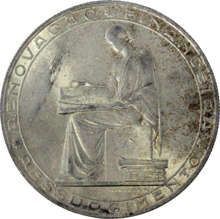 Portugal 20 Escudos 25 ans Reforme Financiere - Armoiries