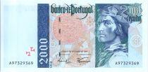 Portugal 2000 Escudos Bartholomé Dias - Bateau - 1997