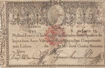 Portugal 20000 Reis 1799 - Miguel I - Guerre des 2 Frères - 1828